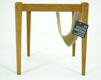 310-239 Oak Side Table Danish Mid Century Modern