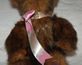 Handcrafted Cinnamon Brown Teddy Bear