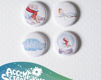 "Badge 1 ""- winter"