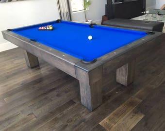 8' Custom Pool Table