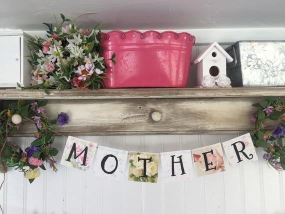 Pretty Mother Printable Vintage Roses Banner & Planner Cards