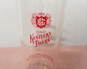 Vintage 1960's Old Kentucky Tavern Bourbon Glass