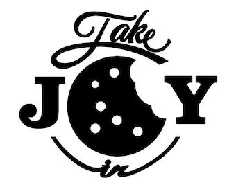 Take Joy In Cookies Decal