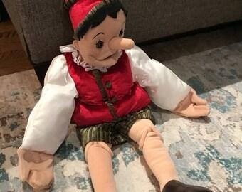 Pinocchio ventriloquist dummy