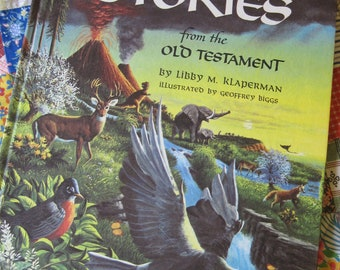 Bible Stories from the Old Testament a Vintage 1963 Story Book