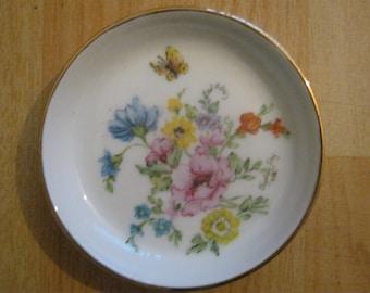 Handpainted Thomas China Germany Dish by Elizabeth Fry 1982