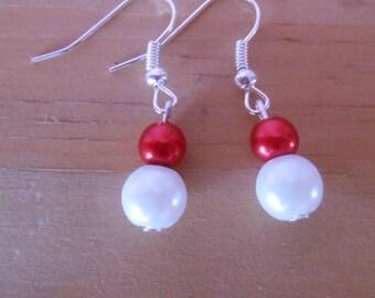 Wedding earrings pearls sensuality
