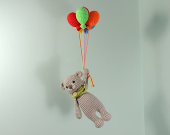 Baby Mobile, Teddy Bear Mobile, Balloon Mobile