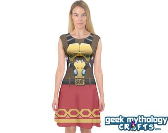 Jesse McCree Inspired Capsleeve Cosplay Dress PREORDER