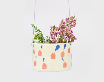 "Hanging pot ""home sweet home 2"""