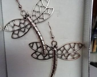 Filigree Mayfly earrings