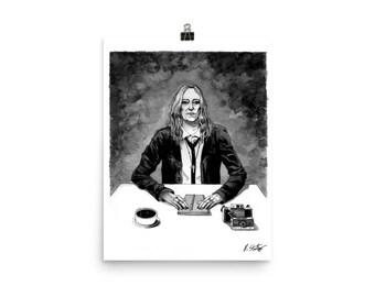 Patti Smith fine art print