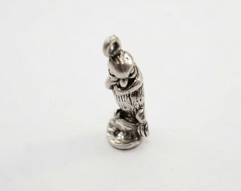 Cute Sterling Silver Penguin Charm