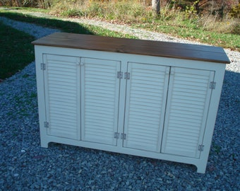 Rustic Media Console, Sideboard, Rustic Buffet, Sideboards and buffets