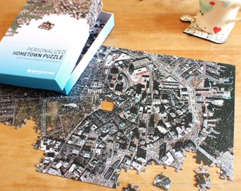 Hometown (Aerial) Map Puzzle