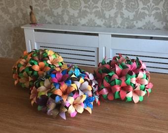 Origami flower centre piece