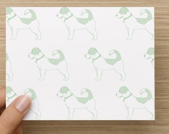 Jack Russell Terrier Note Card Mint