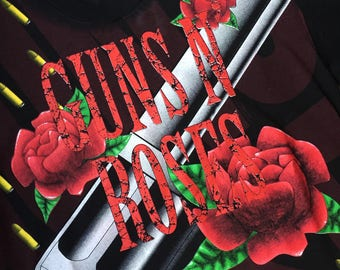 Vintage 90s 1993 Guns N' Roses Double Sided T-Shirt