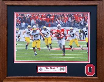 Ohio State Buckeyes vs. Michigan 2015 season 20 inches x 16 inches