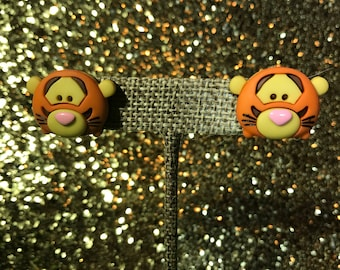 SALE // Tigger Tsum Tsum Stud Earrings // Adorably Cute Disney Bound Jewelry / Ready to ship Gifts & Stocking Stuffers for Her