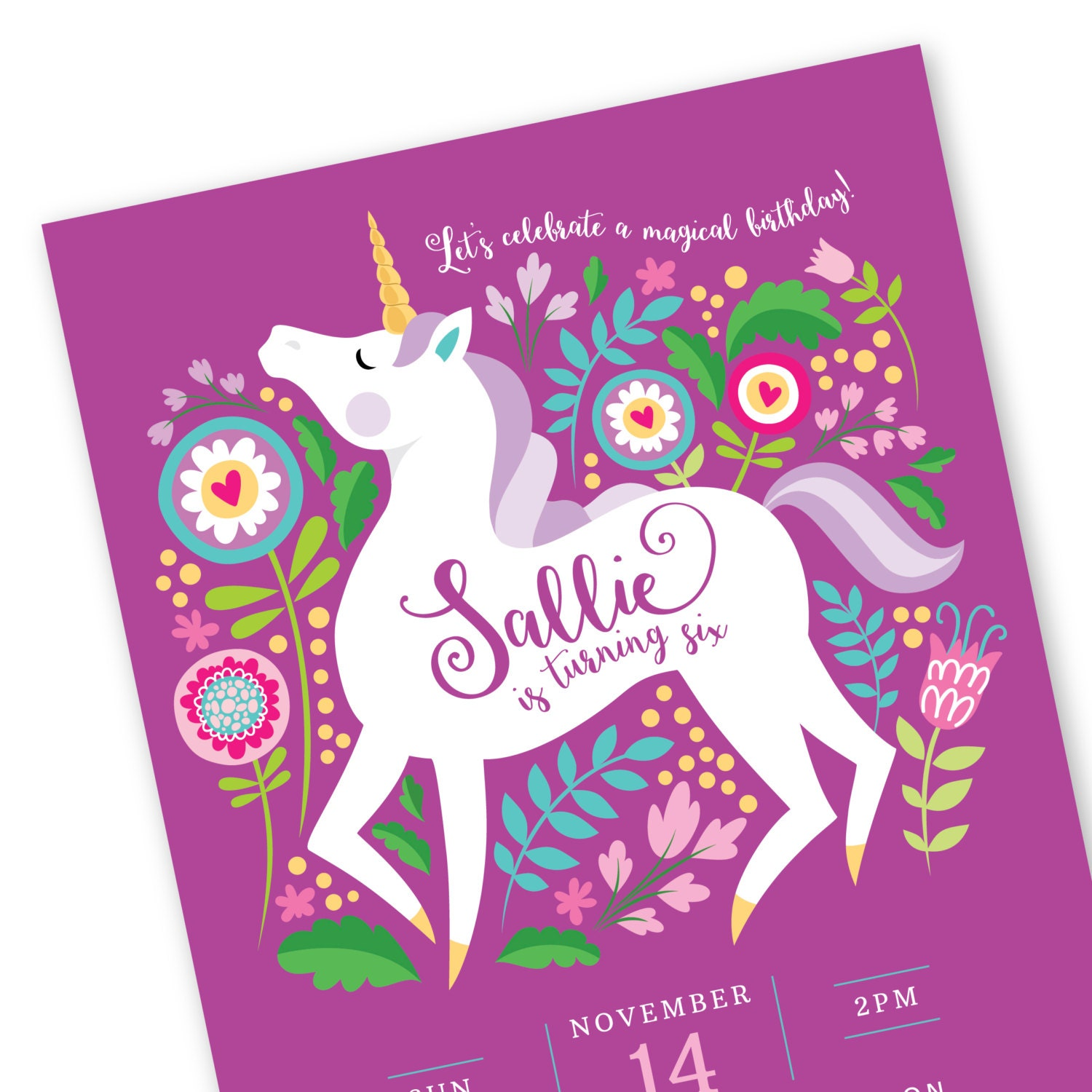 Hilaire image with regard to unicorn invitations printable