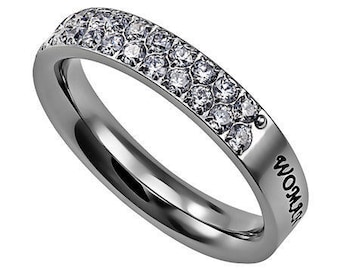 "Covenant Ring ""Woman Of God"""