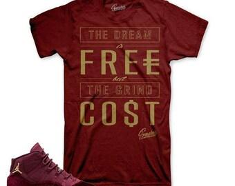 Jordan 11 Heiress Velvet Cost Shirt 8Bsc3e