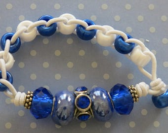 St James III Golf Counter Bracelet - Blue
