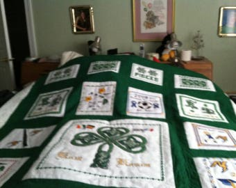 Made to order personalized quilt