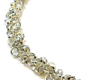 "Contemporary Multi ""Rope"" Chain Necklace"