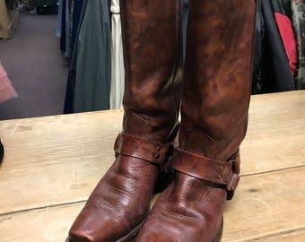 Vintage Wrangler biker boots ...