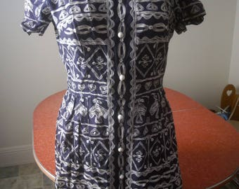 vintage Leslie Fair Dress