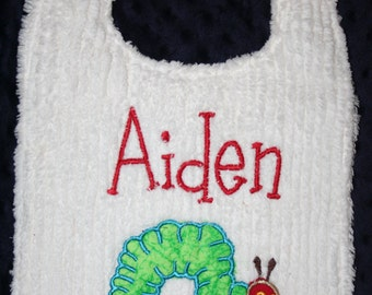 Hungry Caterpillar Toddler Bib