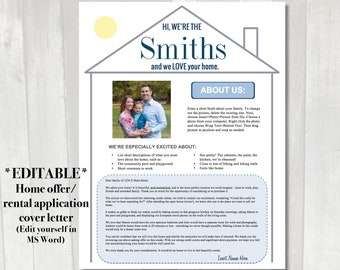 Home offer letter Printable customized cover letter for