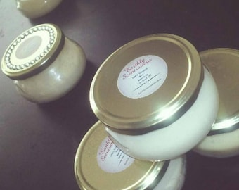100% Natural Soy, Beeswax 8oz Candle