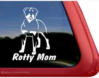 """Rottweiler Rotty Mom 