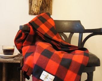 Buffalo plaid blanket
