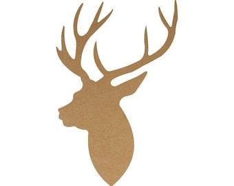 Silhouette profile MDF deer 15 x 10 cm - Artemio - Ref 14002448 (great Christmas) - while stock last!