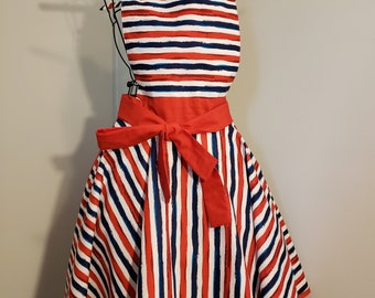 Strips 4th of July Apron