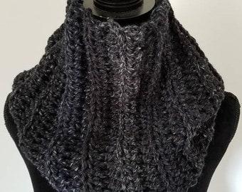 ON SALE Infinity Scarf - Outlander Inspired Scarf, Chunky Scarf, Cowl Scarf, Claire Infinity Scarf, Scarves for Women, Crochet Handmade, Cha
