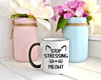 Funny Cat Mug - Cat Lover Gift - Cat Coffee Mug - Cute Cat Mug - Cat Lover Mug - Cat Mom Mug - Gift for Cat Lover - Gift for Cat Owner