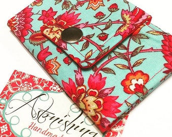 Happy Floral Business/Loyalty Card Holder