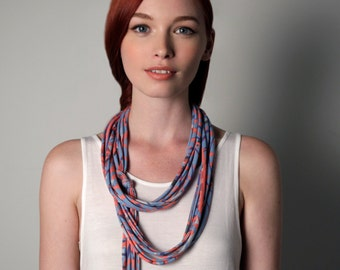Infinity Scarf, Spring Scarf, Summer Scarf, Necklace, Gift Ideas, Girlfriend Gift, Festival