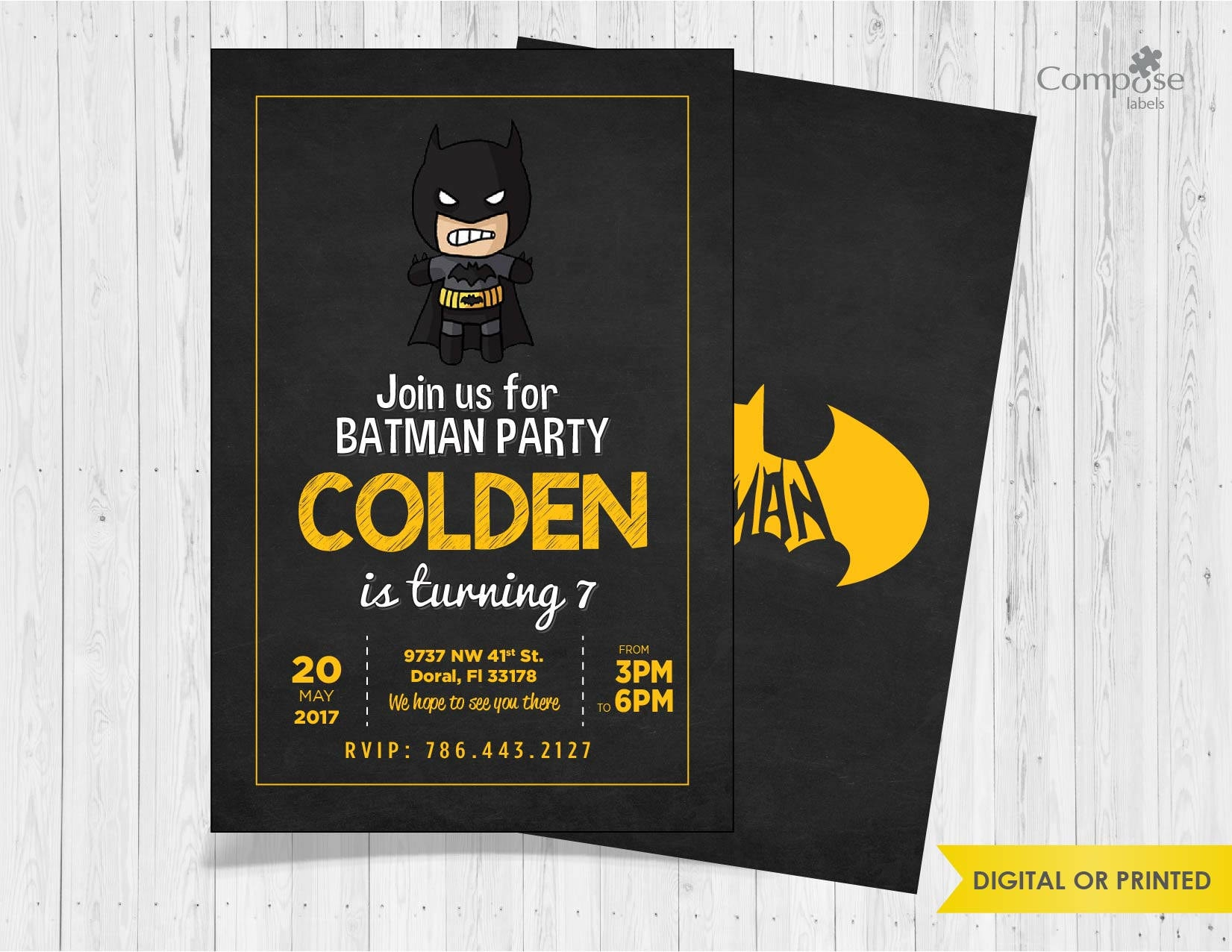Enchanting Party Invitations Printing Adornment - Invitations Design ...