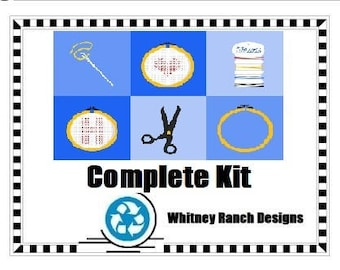 Complete Cross Stitch Kit - Mailed to You