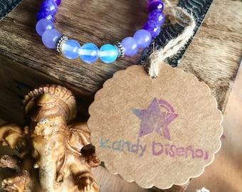 Amethyst beaded bracelet. Energy Bracelet for Healing. Ra Ma Da Sa, Amethyst Bracelet. Kundalini bracelet, Healing Bracelet, Mala Bracelet