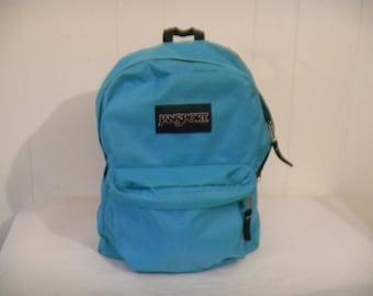 Vintage backpack, Jansport backpack, 1980s backpack, 1980s book bag, vintage book bag