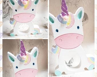 Unicorn kinder holder, Easter gift! Easter present, present day