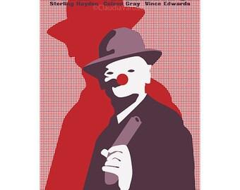Film poster retro print The Killing in various sizes
