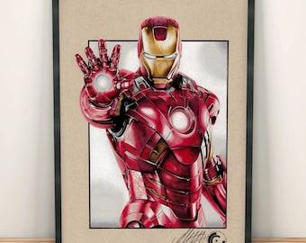 Ironman Limited Edition Print